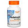 Doctor's Best, Melatonin, Natural Mint, 5 mg, 120 Chewable Tablets