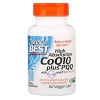 High Absorption CoQ10 plus PQQ, 60 Veggie Caps - фото