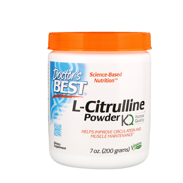 Doctor's Best, L-Citrulina en polvo, 7 oz (200 g)