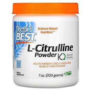 Докторс Бэст, L-Citrulline Powder, 7 oz (200 g) отзывы покупателей