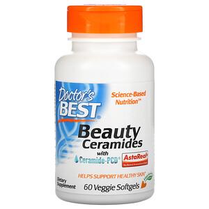 Докторс Бэст, Beauty Ceramides with Ceramide-PCD, 60 Veggie Softgels отзывы покупателей