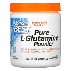 Докторс Бэст, Pure L-Glutamine Powder, 10.6 oz (300 g) отзывы