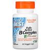 Doctor's Best, 全活性 B 複合物,含 Quatrefolic,60 粒素食膠囊