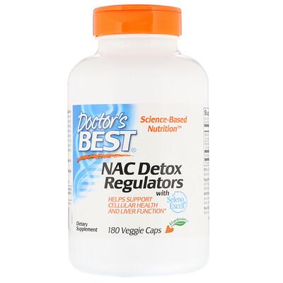 Doctors Best N-ацетилцистеин для регуляции процесса детоксикации, 180растительных капсул