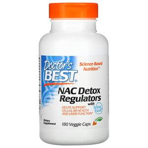 Докторс Бэст, NAC Detox Regulators, 180 Veggie Caps отзывы покупателей