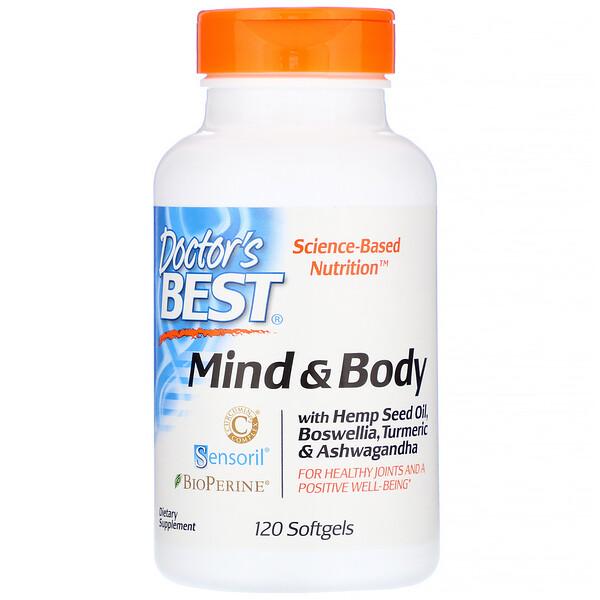 Mind & Body, 120 Softgels