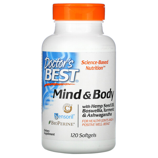 Mind & Body, 120 Softgels
