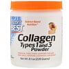 Doctor's Best, Collagen Types 1 and 3 Powder, Peach Flavored, 8.1 oz (228 g)