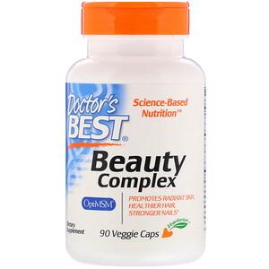 Doctor's Best, Beauty Complex, 90 Veggie Caps