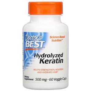 Докторс Бэст, Hydrolyzed Keratin, 500 mg, 60 Veggie Caps отзывы покупателей