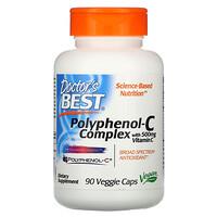 Doctor's Best, Polyphenol-C Complex with Vitamin C, 90 Veggie Caps