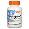 Doctor's Best, Polyphenol-C(ポリフェノール-C)コンプレックス、ビタミンC配合、ベジカプセル90粒