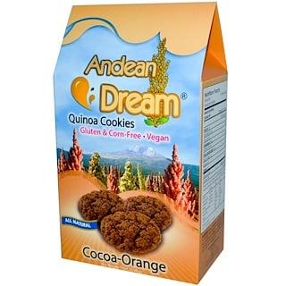 Andean Dream, キノアクッキー, ココア-オレンジ, 7 oz (198 g)