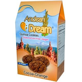 Andean Dream, 퀴노아 쿠키즈, 코코아-오렌지, 7 온스 (198 g)