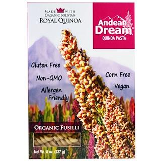 Andean Dream, キヌアパスタ、フジッリ、8オンス (227 g)