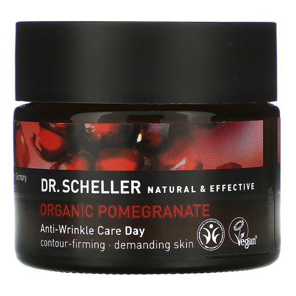 Dr. Scheller, Crema de Día Antiarrugas, Granada Biológica, 1.8 oz (50 g) (Discontinued Item)
