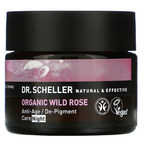 Dr. Scheller, Anti-Age / De-Pigment Care, Night, Organic Wild Rose, 1.7 oz (48 g) (Discontinued Item)