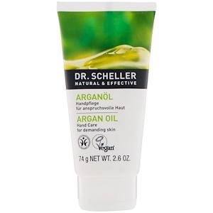 Др Шеллер, Hand Care, Argan Oil, Demanding Skin, 2.6 oz (74 g) отзывы