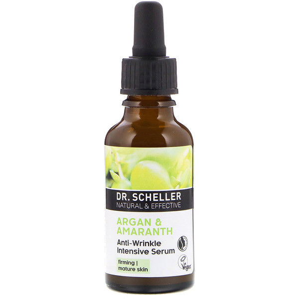 Dr. Scheller, Anti-Wrinkle Intensive Serum, Argan & Amaranth, 1.0 fl oz (30 ml)