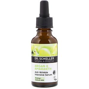 Др Шеллер, Anti-Wrinkle Intensive Serum, Argan & Amaranth, 1.0 fl oz (30 ml) отзывы