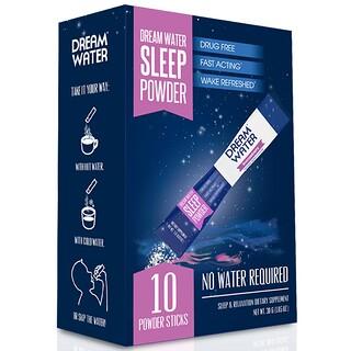 Dream Water, Порошок для сна, Сонная ягода, 10 палочек, по 3 г каждая