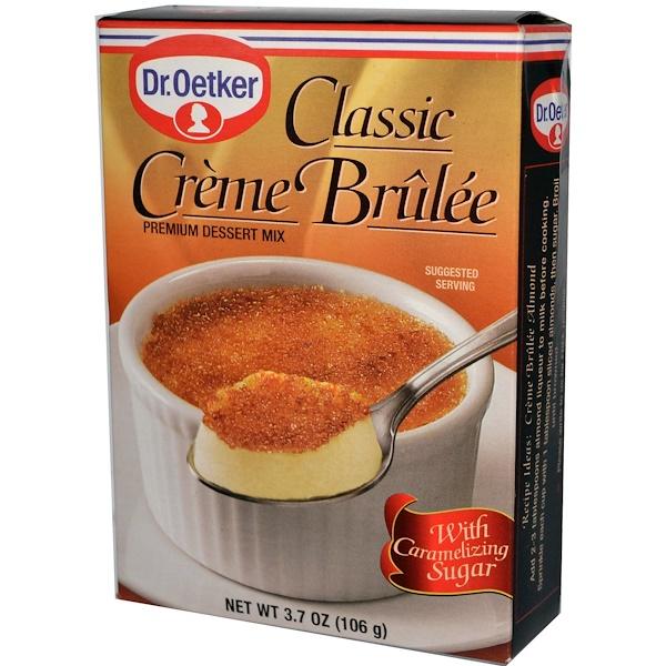 European Gourmet Bakery, Classic Crème Brùlèe, 3.7 oz (106 g) (Discontinued Item)
