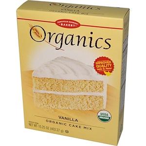 Юропеан Гурмэ Бейкари, Organics, Vanilla Organic Cake Mix, 15.25 oz (432.27 g) отзывы покупателей