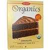 European Gourmet Bakery, Organics, Cake Mix, Chocolate, 15.25 oz (432 g)