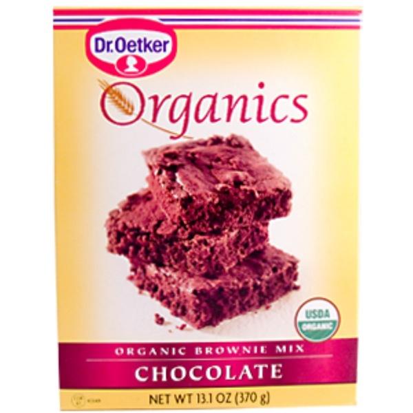 European Gourmet Bakery, Organics, Brownie Mix, Chocolate, 13.1 oz (370 g) (Discontinued Item)