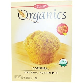 European Gourmet Bakery, Organics, Cornmeal Muffin Mix, 16 oz (453 g)
