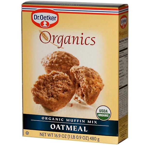 European Gourmet Bakery, Organics, Muffin Mix, Oatmeal, 16.9 oz (480 g) (Discontinued Item)
