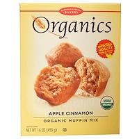 Органическая смесь для кексов с яблоком и корицей, 16 унций (453 г) - фото