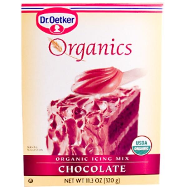 European Gourmet Bakery, Organics, Organic Icing Mix, Chocolate, 11.3 oz (320 g) (Discontinued Item)