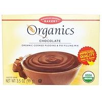 Органический готовый пудинг и смесь для начинки пирога, шоколад , 3.5унций (99 г) - фото