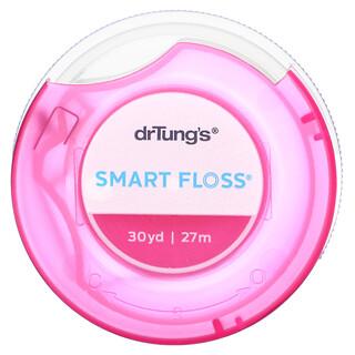 Dr. Tung's, Smart Floss, зубная нить, натуральный кардамон, 27м (30ярдов)