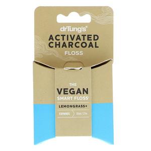 Др Тангс, Activated Charcoal Floss, Lemongrass, 30 yd (27 m) отзывы покупателей