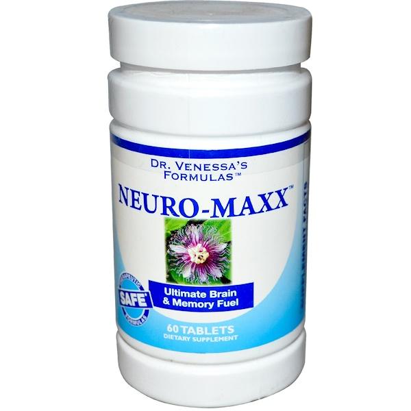 Dr. Venessa's, Neuro-Maxx, 60 Tablets (Discontinued Item)