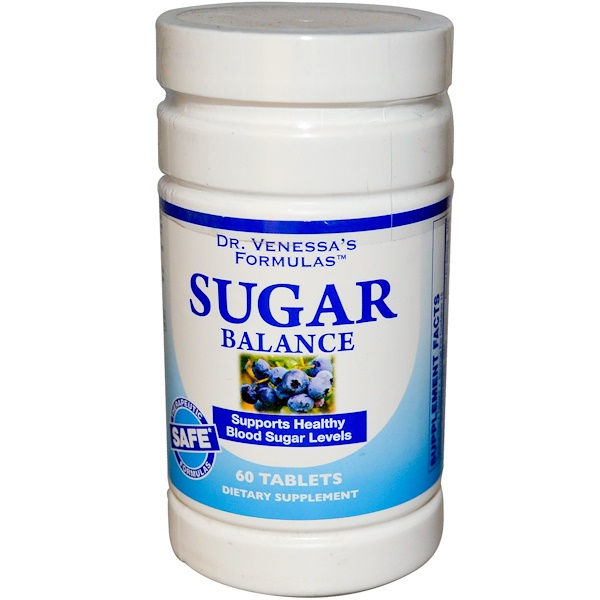 Dr. Venessa's, Sugar Balance, 60 Tablets (Discontinued Item)
