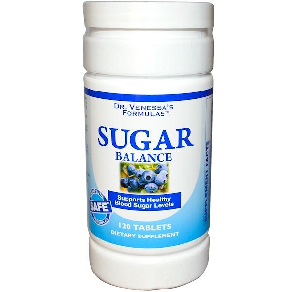 Dr. Venessa's, Sugar Balance, 120 Tablets (Discontinued Item)