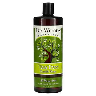 Dr. Woods, Tea Tree Castile Soap, 32 fl oz (946 ml)