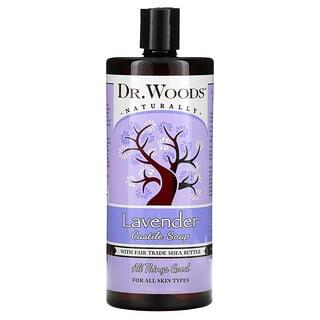 Dr. Woods, Lavender Castile Soap with Fair Trade Shea Butter, 32 fl oz (946 ml)