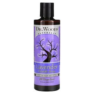 Dr. Woods, Lavender Castile Soap with Fair Trade Shea Butter, 8 fl oz (236 ml)