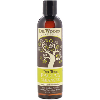 Dr. Woods, Facial Cleanser, Tea Tree, 8 fl oz (236 ml)