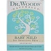 Dr. Woods, Baby Mild Castile Soap, Unscented, 5.25 oz (149 g)