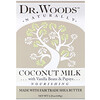 Dr. Woods, Bar Soap, Coconut Milk, 5.25 oz (149 g)