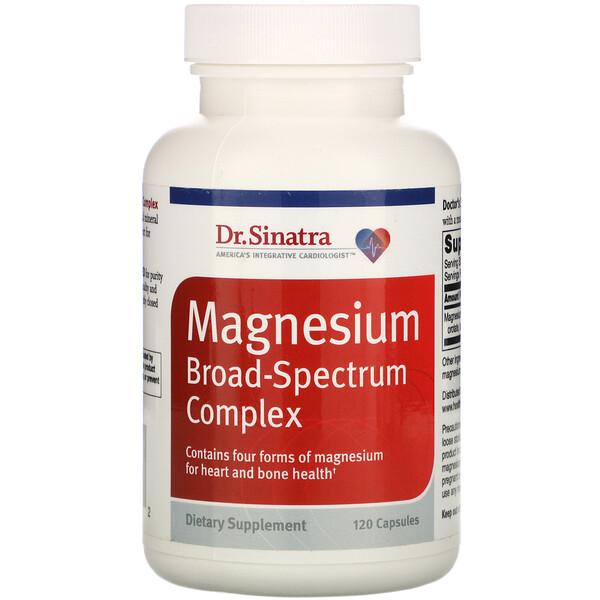 Magnesium Broad-Spectrum Complex, 120 Capsules