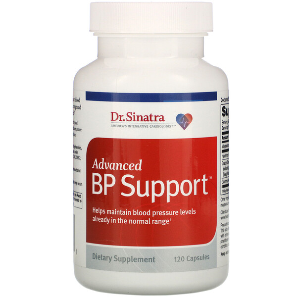 Advanced BP Support, 120 Capsules