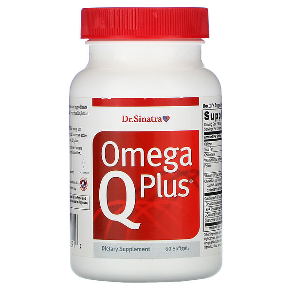 Omega Q Plus, 60 Softgels