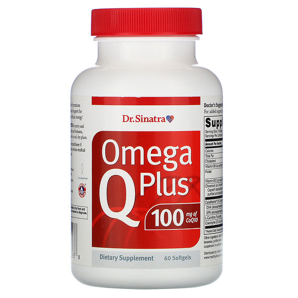 Omega Q Plus 100, 60 Softgels