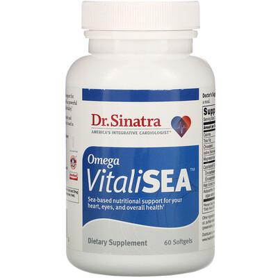 Купить Dr. Sinatra Omega VitaliSEA, 60 Softgels